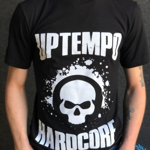 Uptempo Is The Tempo T-shirt 'Uptempo Hardcore'