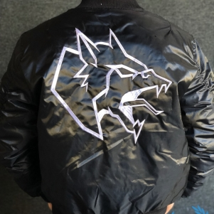 Neophyte Records Bomber Jacket 'Neophyte - Hardcore Worldwide Anarchy'