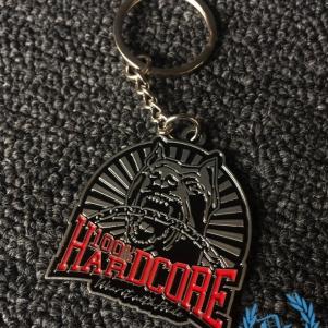 100% Hardcore Metal Keychain 'Classic'