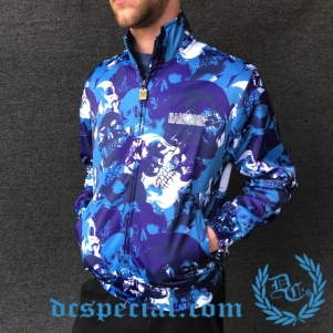 100% Hardcore Training Jacket 'Camo Skulls'