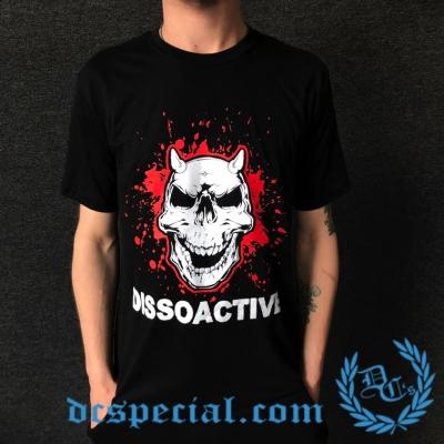 Dissoactive T-shirt 'Kaak Naar De Tyfus'
