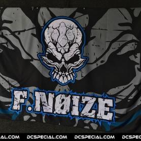 F.Noize Vlag 'F.Noize Blue'