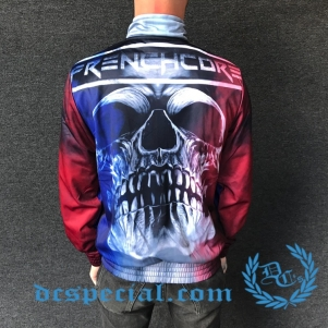 Frenchcore Training Jacket 'Smoked Skull'