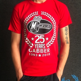 Mokum Records T-shirt '25 Years Gabber'