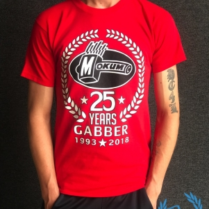 Mokum Records T-shirt '25 Years Gabber'