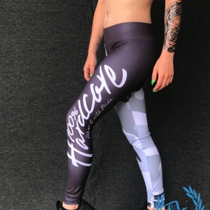 100% Hardcore Dames Legging 'Camou'