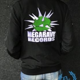 Megarave Bomber Jacket 'Megarave Records'
