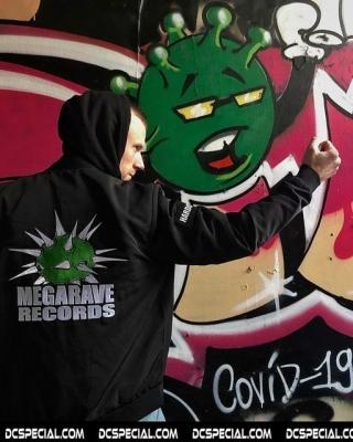 Megarave Bomber Jas 'Megarave Records'