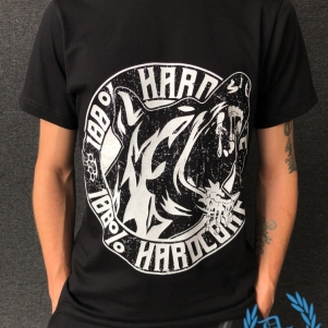 100% Hardcore T-shirt 'Bloodhound'