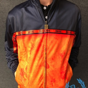100% Hardcore Training Jacket 'The Pit Orange'