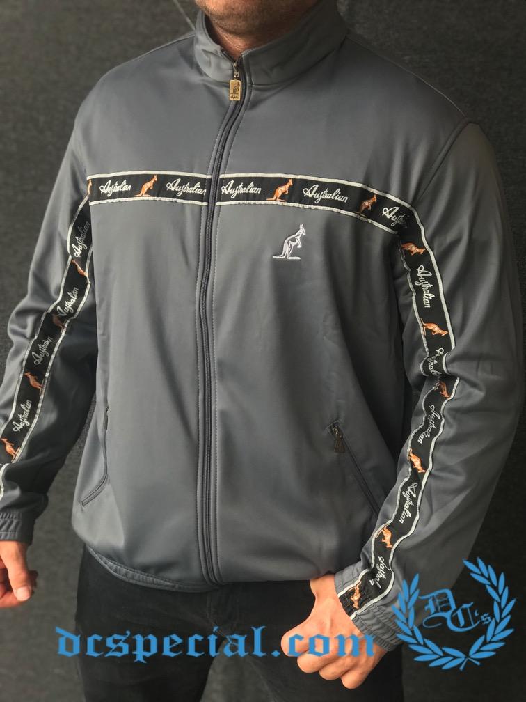 Australian Training Jacket 'Titanium Grey'