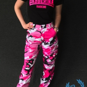 Army Pants For Ladies 'BDU Camo Pink'
