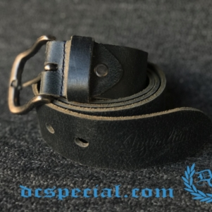 Australian Ceinture 'Dark Grey Leather'