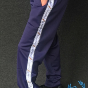 Australian Training Pants 'Blue Cosmo/White'