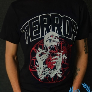 Terror T-shirt 'Until Death'