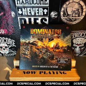Dominator 2018 CD 'Rally Of Retribution - Mixed By Angerfist & The Satan