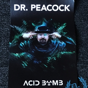 Dr. Peacock Sticker 'Acid Bomb Big'