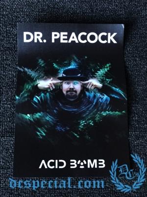 Dr. Peacock Sticker 'Acid Bomb Big'
