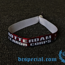 Rotterdam Terror Corps Wristband 'RTC Skulls Red'