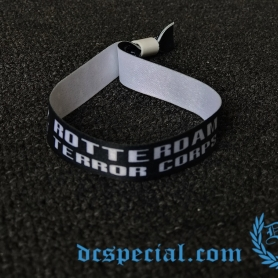 Rotterdam Terror Corps Wristband 'RTC Skulls Black'