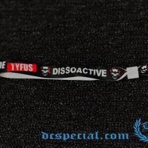 Dissoactive Bracelet 'Kaak Naar De Tyfus'