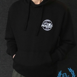 Dr. Peacock Hooded Sweater 'Peacock Records'