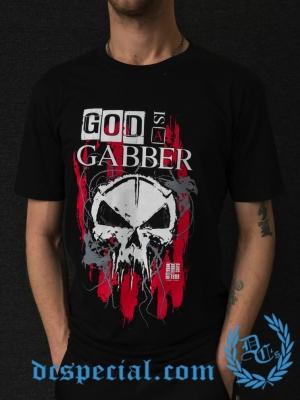 Rotterdam Terror Corps T-shirt 'God Is A Gabber'