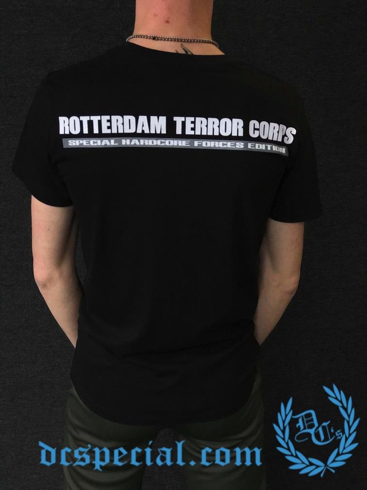 Rotterdam Terror Corps T-shirt 'Camo'