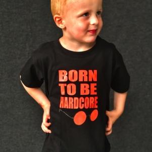 Hardcore T-shirt voor Kinderen 'Born To Be Hardcore'