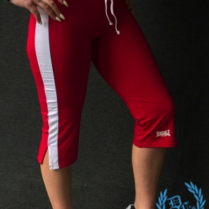 Lonsdale Woman Pants 'Red'