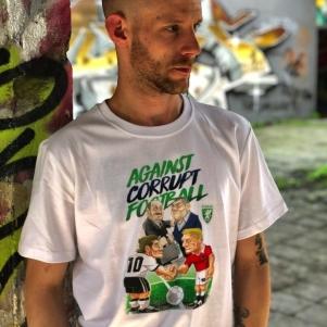 PGwear T-shirt 'Against Corrupt Football'