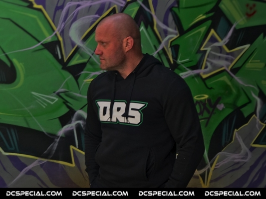 DRS Hooded Sweater 'DRS Green'