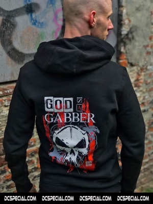 Rotterdam Terror Corps Hooded Sweater 'God Is A Gabber'