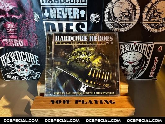 Hardcore Heroes CD 2008 'Mixed By Paul Elstak - Lunatic & Miss Hysteria'