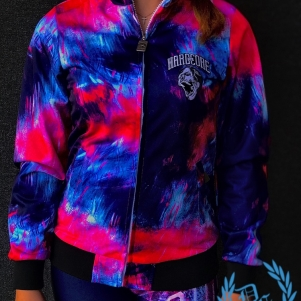 100% Hardcore Ladies Training Jacket 'Art Skull'