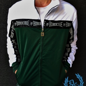 100% Hardcore Training Jacket 'Authentic Green'