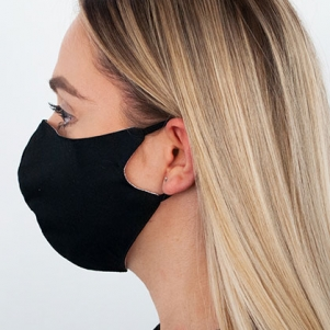 Mouth and nose mask BLACK - PREORDER unisex