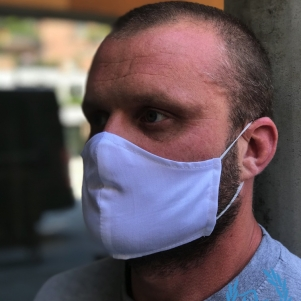 Mouth Mask 'Large/XL White'