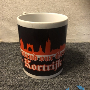 Kortrijk Drink Cup 'We Stand Our Ground'