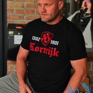 Kortrijk T-shirt 'Hooligan 1901'
