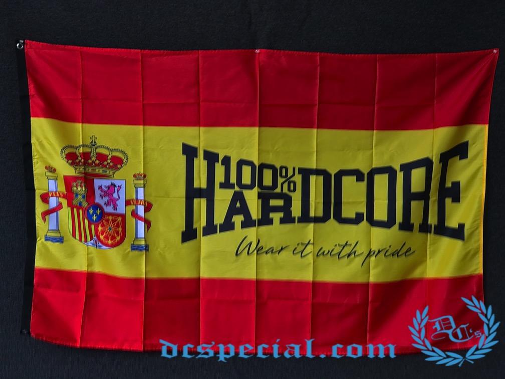 100% Hardcore Flag 'Hardcore Espana'