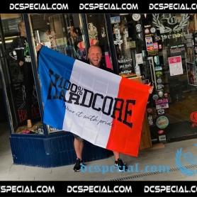 100% Hardcore Flag 'Hardcore France'