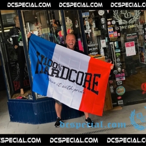 100% Hardcore Vlag 'Hardcore France'