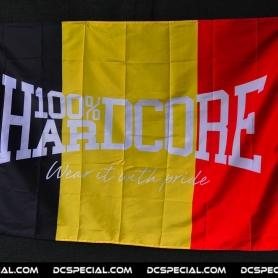 100% Hardcore Flag 'Hardcore Belgium'