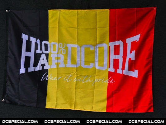 100% Hardcore Vlag 'Hardcore Belgium'