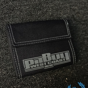 Pit Bull Westcoast Wallet 'Boxing Black/Grey'
