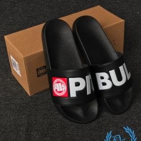 Pit Bull Westcoast Slippers 'Logo Black'