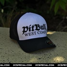 Pit Bull Westcoast Full Cap 'Old Logo White Black'