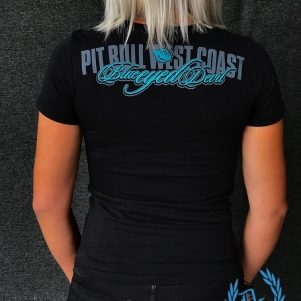 Pit Bull Westcoast Dames T-shirt 'Blue Eyed'
