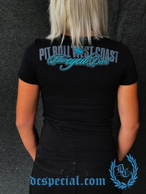 Pit Bull Westcoast Dames T-shirt 'Blue Eyed'